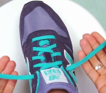 Dicas para o dia a dia: amarrando os sapatos em 2 segundos