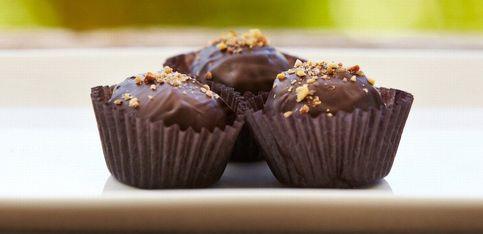 Bouchées cacahuètes et chocolat