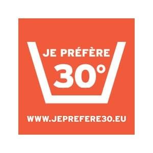 JE PREFERE 30°   Lavage > Linge de Maison
