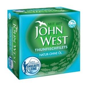 Thunfischfilets Natur – ohne Öl John West