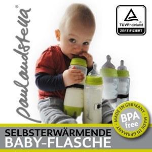 Selbsterwärmende Babyflasche paulandstella