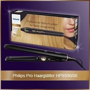 Pro Haarglätter HPS930/00 Philips