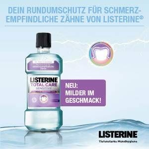 Total Care Sensitive LISTERINE<sup>®</sup>