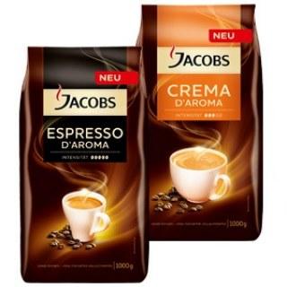 Crema D`Aroma und Espresso D`Aroma Jacobs