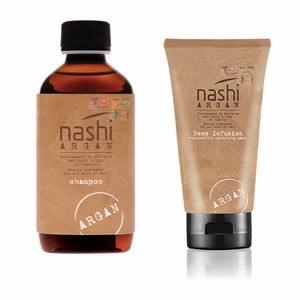 Shampoo e Deep Infusion Nashi Argan