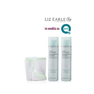 Kit 2 Detergenti viso e 2 panni in mussola Liz Earle