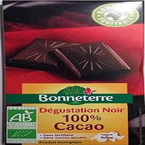 Bonneterre Dégustation Noir 100% Cacao