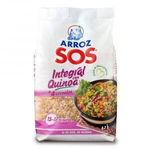 Opiniones Arroz integral con quinoa y 4 cereales SOS