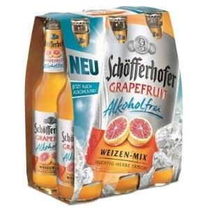 Schöfferhofer Grapefruit Alkoholfrei Schöfferhofer