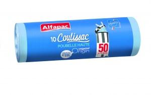 Alfapac Coulissac spécial poubelle haute