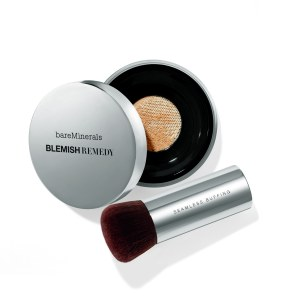 bareMinerals Fond de Teint Blemish Remedy™ et Pinceau Application Zéro Démarcation