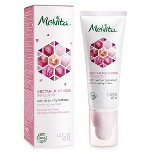 Melvita Soin de jour hydratant, Nectar de Roses Infusion