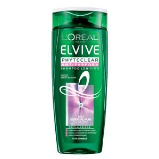 PHYTOCLEAR Antiforfora - Shampoo Lenitivo / Shampoo Pure Fresh Elvive
