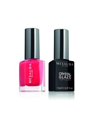 Crystal Glaze - colore & top coat Mesauda