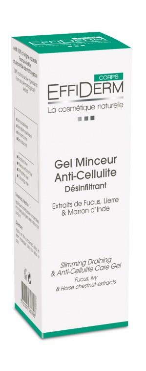 Effiderm Gel Minceur Anti-cellulite Désinfiltrant EffiDerm