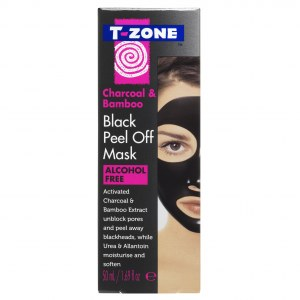Charcoal & Bamboo Black Peel Off Mask T-Zone