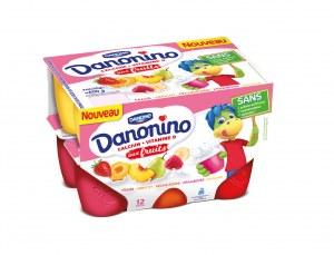 Danonino Danonino aux fruits