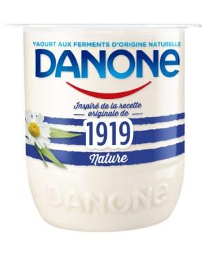Danone Danone 1919 Nature au lait entier