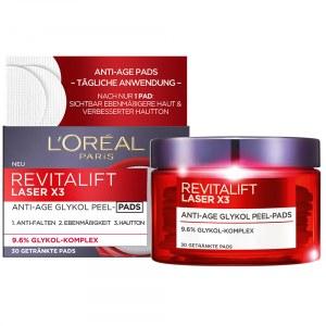 Revitalift Laser X3 Anti-Age Glykol Peel-Pads L'Oréal Paris