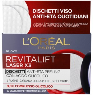 Revitalift Laser X3 - Dischetti Anti-età Peeling L'Oréal Paris