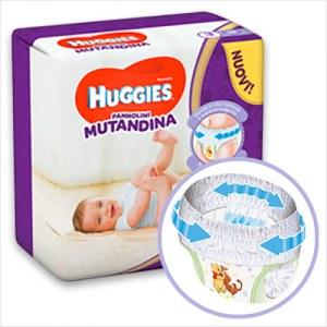 Pannolino Mutandina Huggies