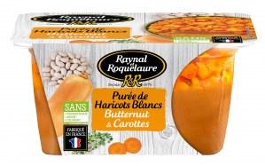 Raynal et Roquelaure Purée de Haricots Blancs, Butternut & Carottes