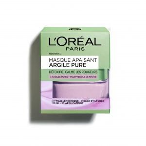 L'Oréal Paris Masque Apaisant Argile Pure