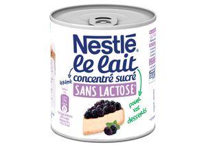 Nestlé lait concentré sucré Sans Lactose Nestlé le Lait Concentré Sucré sans lactose