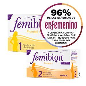 Opiniones Femibion Pronatal 1 y Femibion Pronatal 2 FEMIBION