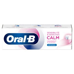 Oral-B Dentifrice Sensibilité & Gencives CALM Original