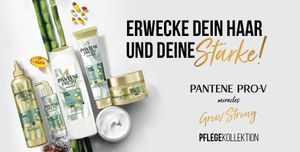 Pantene Pro-V Miracles Grow Strong Pflegekollektion Gewinnspiel Pantene Pro-V