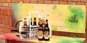 Gewinne eine trendige Kozel DIY-Bierbank Kozel