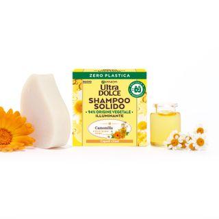 ULTRA DOLCE SHAMPOO SOLIDO con il 94% degli ingredienti di origine vegetale Garnier Ultra Dolce