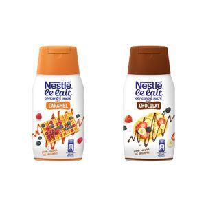 Nestlé Lait Concentré Sucré Topping Chocolat & Caramel