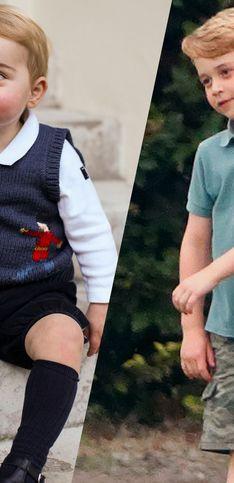 Le prince George fête ses 7 ans ! Retour sur les photos du royal baby depuis sa naissance