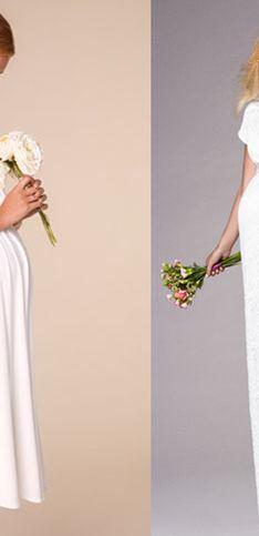 Les plus belles robes de mariée de grossesse