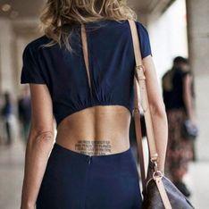 Tatouage : des idées de phrases pour s'exprimer en beauté