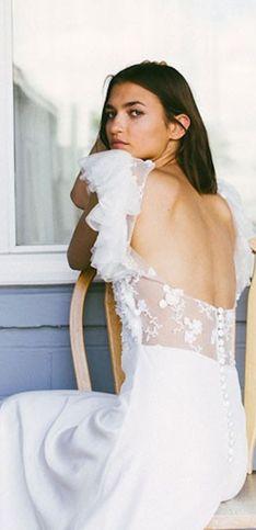 Ces robes de mariée dos nu vont vous faire craquer