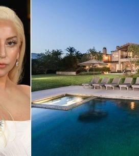 La propriété de Lady Gaga à Malibu, face à l'océan