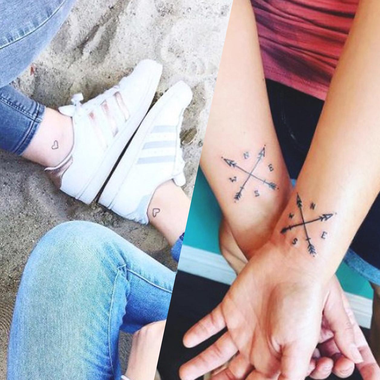 Tatouage Amitié 50 Idées De Tattoos à Partager Avec Sa Bff