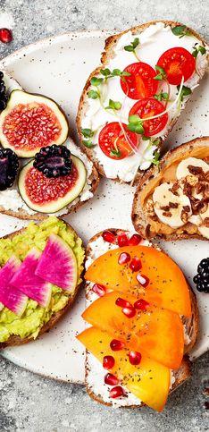 30 recettes de tartines et de toasts originaux et super gourmands