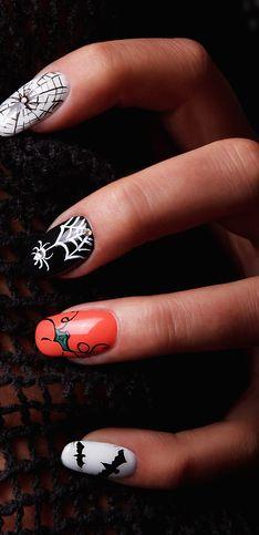 59 idées de manucure effrayante pour fêter Halloween