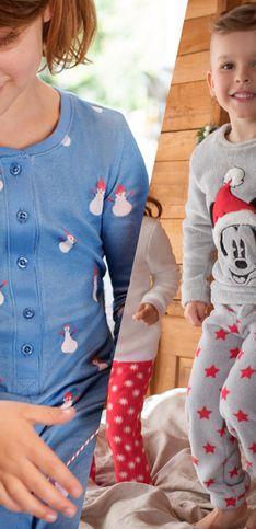 On craque pour ces pyjamas de Noël pour les enfants !
