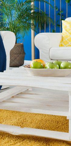Envie de fabriquer une table basse en palette ? Inspirez-vous avec ces 30 modèles originaux