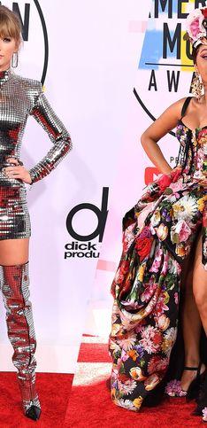 Retour sur les looks les plus extravagants des American Music Awards 2018