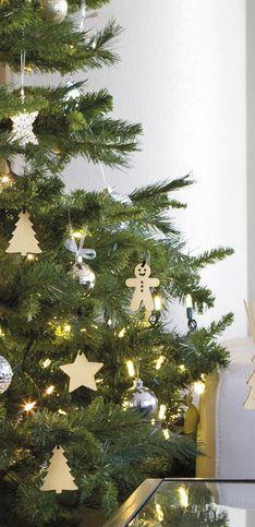 30 décorations en bois pour un Noël nature