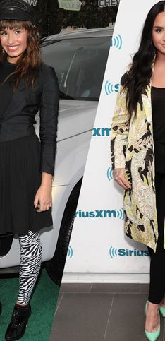 De Disney à star de la pop : retour sur l'évolution mode de Demi Lovato