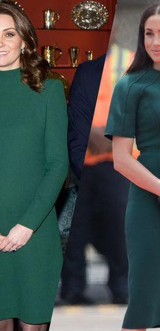 Retour sur les looks de grossesse de Kate Middleton et Meghan Markle