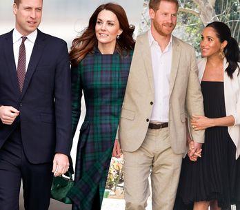 Où vivent les membres de la famille royale britannique ?