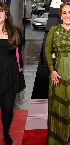 Retour sur l'évolution mode de la chanteuse Adele
